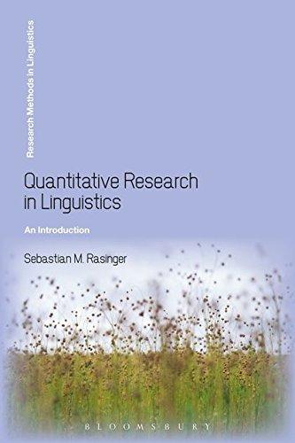 9780826496034: Quantitative Research in Linguistics: An Introduction