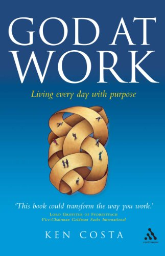 9780826496348: God at Work: Living Every Day with Purpose