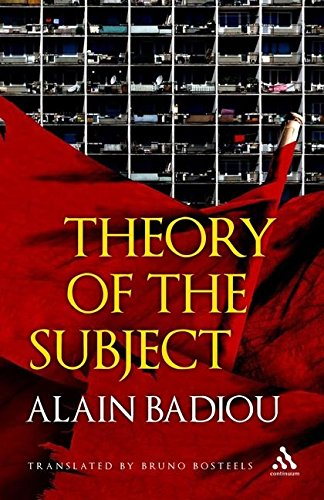9780826496737: Theory of the Subject