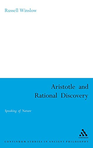 Aristotle and rational discovery.: Winslow, Russell.