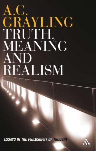 9780826497482: Truth, Meaning and Realism: Essays in the Philosophy of Thought