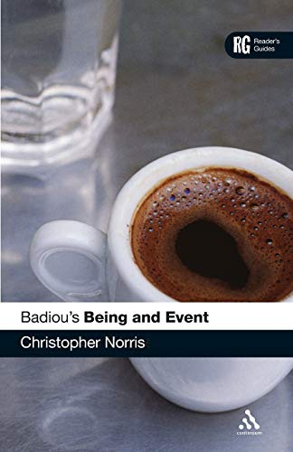 9780826498298: Badiou's 'Being and Event': A Reader's Guide