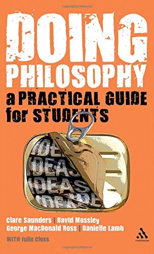 9780826498724: Doing Philosophy: A Practical Guide for Students