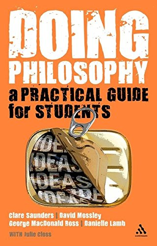 9780826498731: Doing Philosophy: A Practical Guide for Students