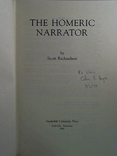 9780826512369: The Homeric Narrator