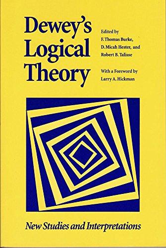 Dewey s Logical Theory: New Studies and Interpretations (Hardback)