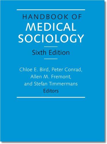 9780826517203: Handbook of Medical Sociology, Sixth Edition