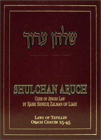 9780826601124: Shulchan Oruch English Vol 2 Orach Chaim 25-45