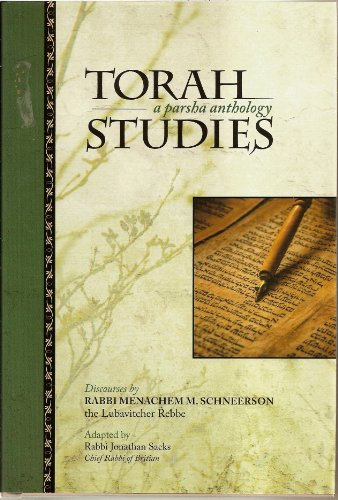 9780826604934: Torah Studies: A Parsha Anthology