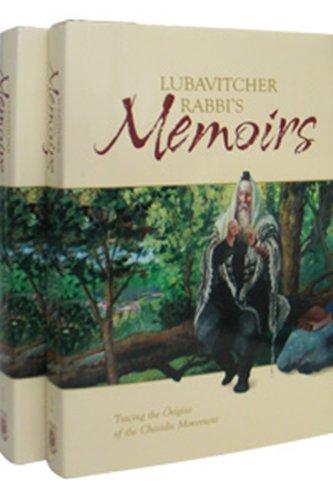 Lubavitcher Rabbi's Memoirs Tracing the Origins of the Chasidic Movement; 2-Volume Slipcased ...