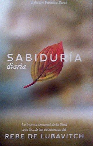 Daily Wisdom Spanish Compact Edition - Sabiduria: Kehot Publication Society