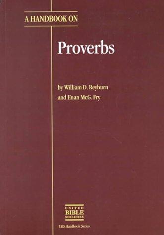 9780826701206: A Handbook on Proverbs (HELPS FOR TRANSLATORS)