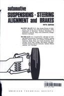 9780826901224: Automotive Suspensions, Steering, Alignment, and Brakes