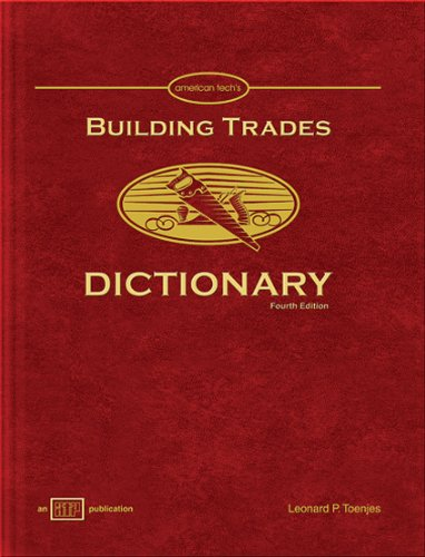 9780826904034: Building Trades Dictionary