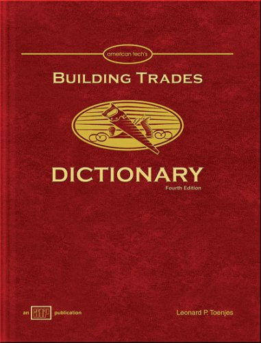 9780826904065: Building Trades Dictionary