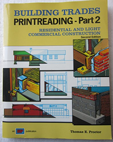 9780826904218: Building Trades Printreading - Part 2 - Residential and Light Commercial Construction/With Plans