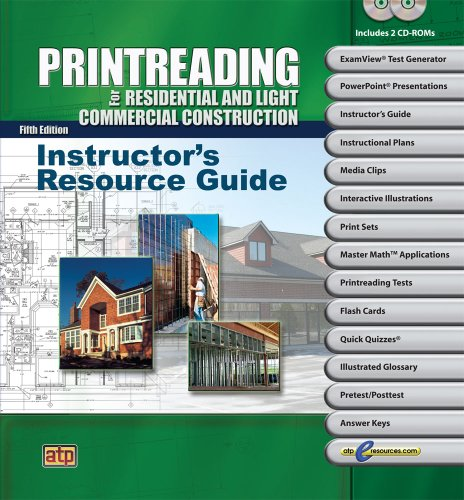 9780826904706: Printreading for Residential and Light Commercial Construction Resource Guide
