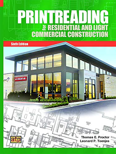 9780826904843: Printreading for Residential and Light Commercial Construction