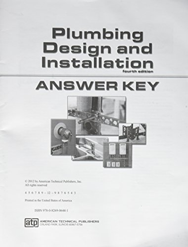 9780826906441: Plumbing Design and Installation