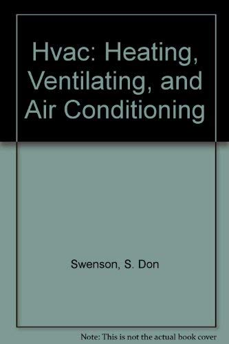 9780826906724: Hvac: Heating, Ventilating, and Air Conditioning