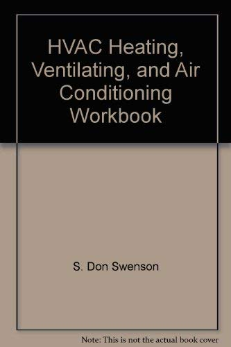 9780826906731: HVAC Heating, Ventilating, and Air Conditioning Workbook