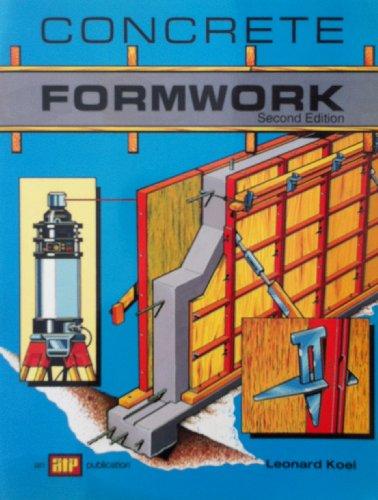 Concrete Formwork (0826907067) by Koel, Leonard