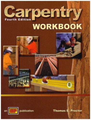 9780826907394: Carpentry Workbook