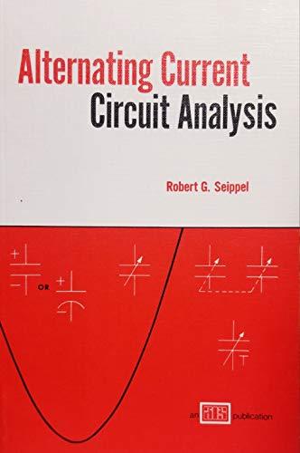 9780826915894: Alternating current circuit analysis