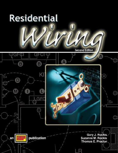 residential wiring by gary rockis suzanne thomas proctor abebooks rh abebooks com residential wiring games Electrician Clip Art