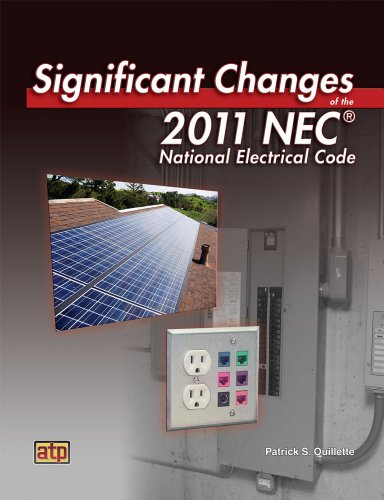 Significant Changes of the NEC (National Electric Code): Patrick S. Ouillette