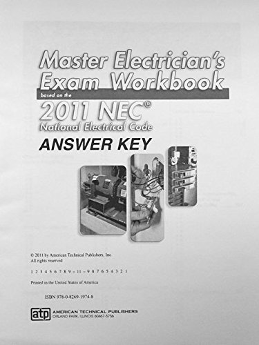 9780826919748: Master Electrician's Exam Workbook: Based on the 2011 NEC