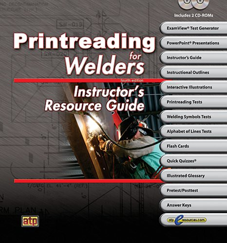 9780826930538: Printreading for Welders Resource Guide w/ExamView Pro