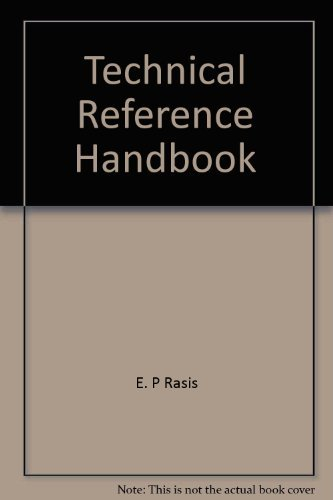 9780826934505: Technical reference handbook