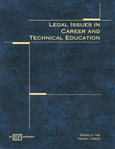 9780826940254: Legal Issues in Career and Technical Education