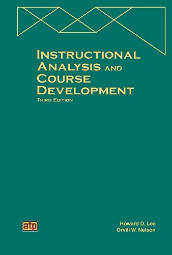 9780826940636: Instructional Analysis and Course Development