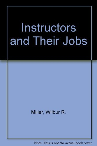 9780826941626: Instructors and Their Jobs
