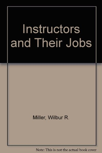 9780826941633: Instructors and Their Jobs