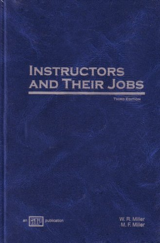 9780826941657: Instructors and Their Jobs