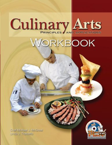 9780826942012: Culinary Arts Principles and Applications Workbook