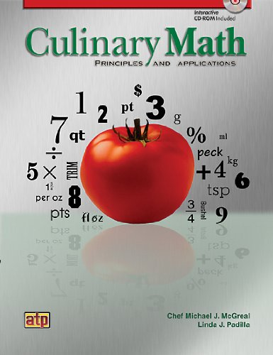 9780826942111: Culinary Math Principles and Applications