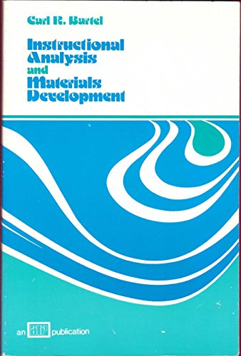 9780826942739: Instructional Analysis and Materials Development