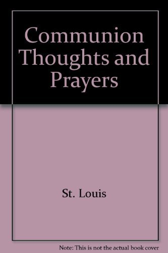 9780827204409: Communion Thoughts and Prayers