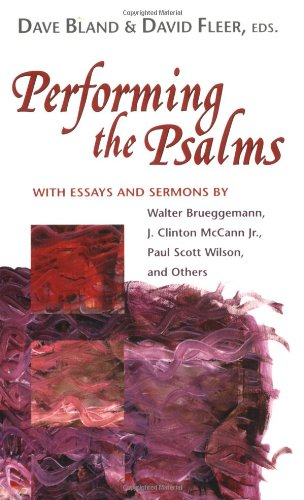 9780827229839: Performing the Psalms