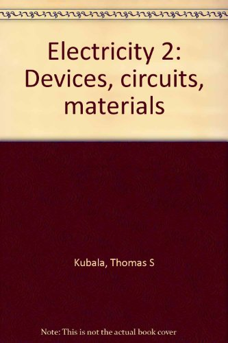 9780827313590: Electricity 2: Devices, circuits, materials