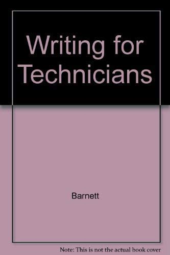 9780827318670: Writing for Technicians