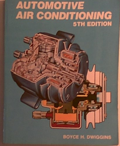 9780827319400: Automotive air conditioning