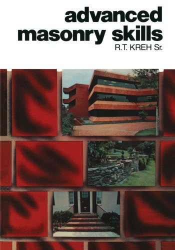 9780827321489: Advanced Masonry Skills