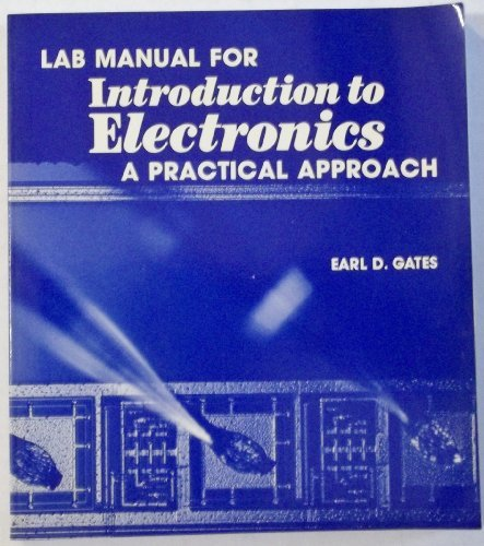 9780827323520: Lab Manual for Introduction to Electronics: A Practical Approach