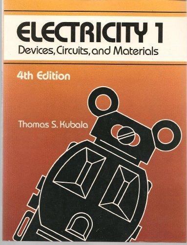 9780827325319: Electricity: v. 1
