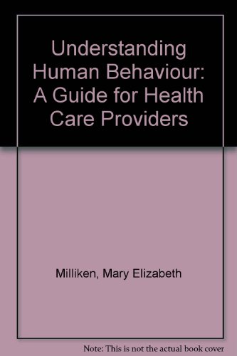 9780827327979: Understanding Human Behaviour: A Guide for Health Care Providers